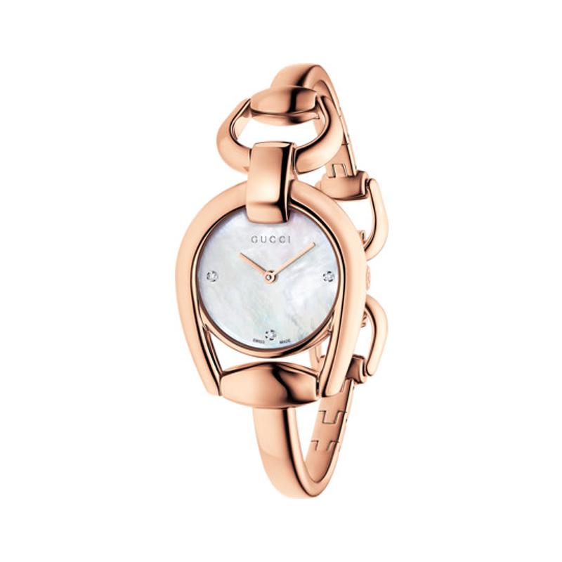 orologiDonnaOrologio Gucci  Horsebit Donna Small oro rosa