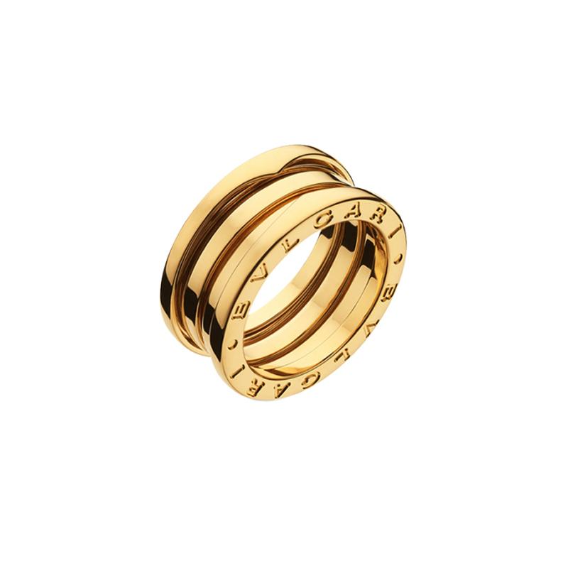gioielliDonnaAnello Donna Bulgari B.zero1 3 fasce oro giallo