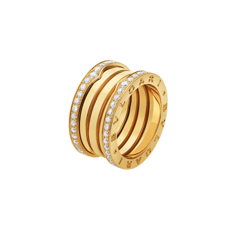 gioielliDonnaAnello Donna Bulgari B.zero1 4 fasce oro giallo diamante