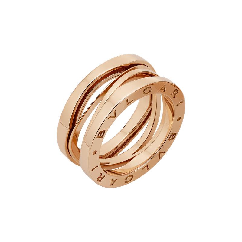 gioielliDonnaAnello Donna Bulgari B.zero1 Design Legend oro rosa corto