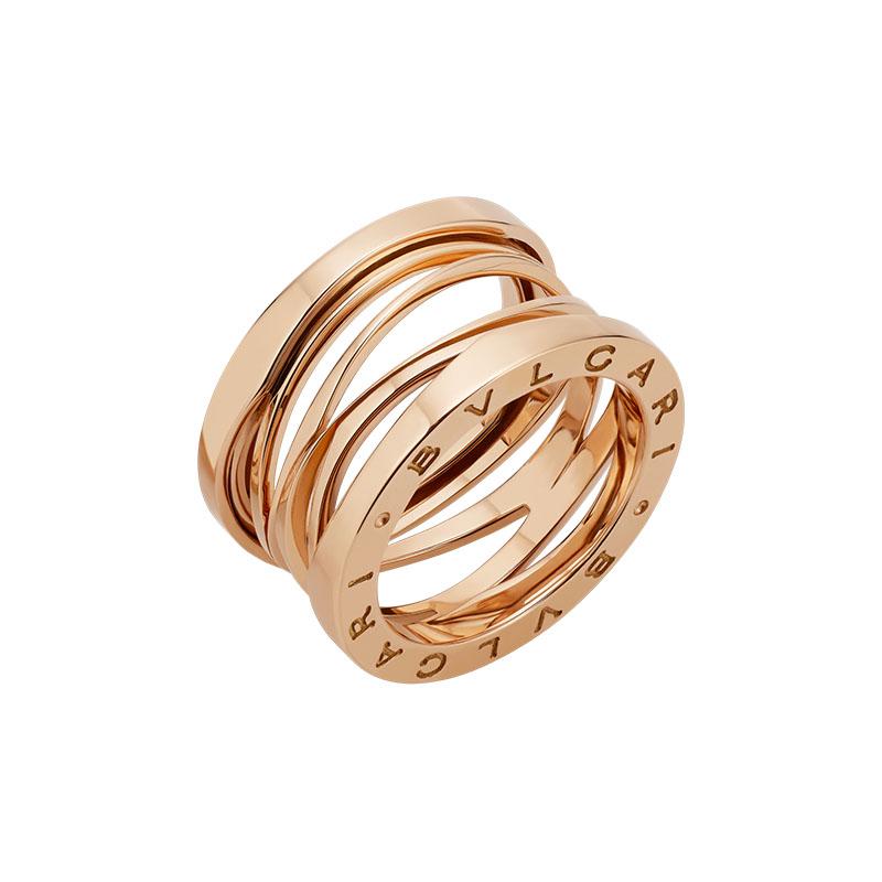 gioielliDonnaAnello Donna Bulgari B.zero1 Design Legend oro rosa lungo