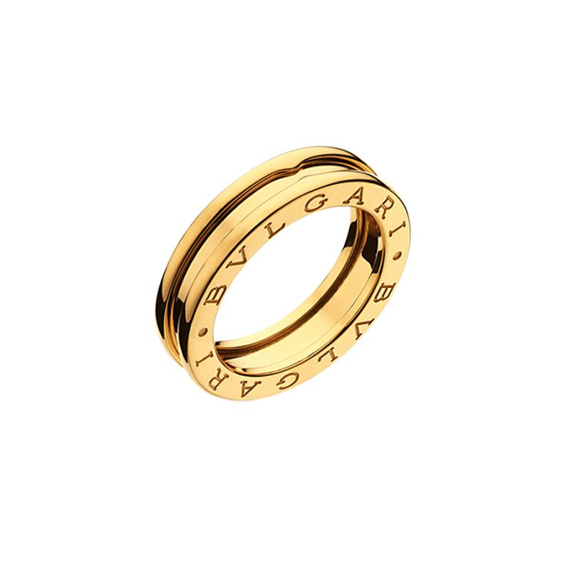 gioielliDonnaAnello Donna Bulgari B.zero1 una fascia oro giallo