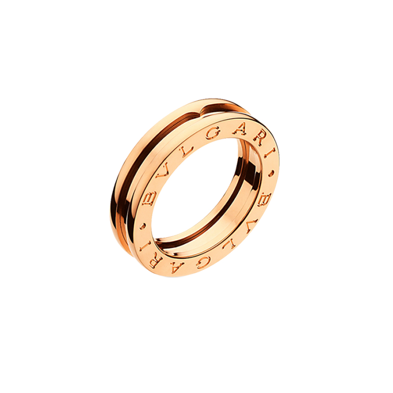 gioielliDonnaAnello Donna Bulgari B.zero1 una fascia oro rosa