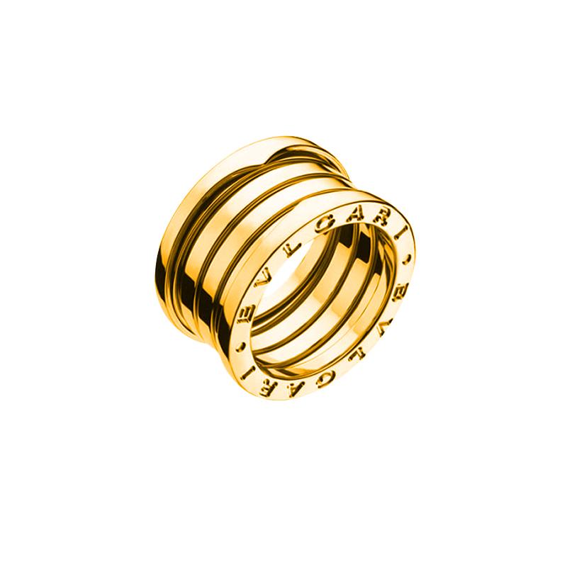 gioielliDonnaAnello Donna Bulgari B.zero1 4 fasce oro giallo