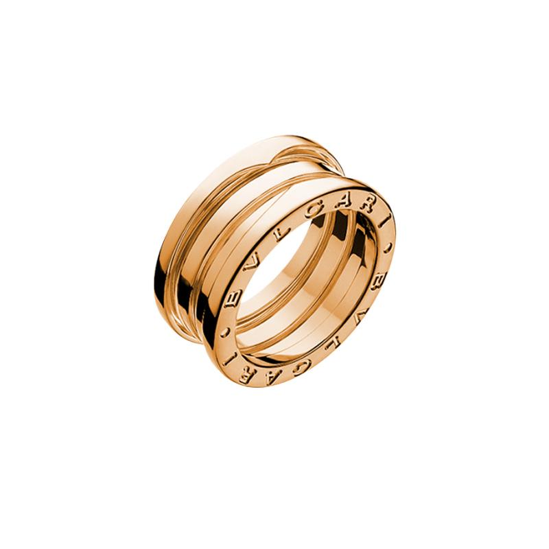 gioielliDonnaAnello Donna Bulgari B.zero1 3 fasce oro rosa