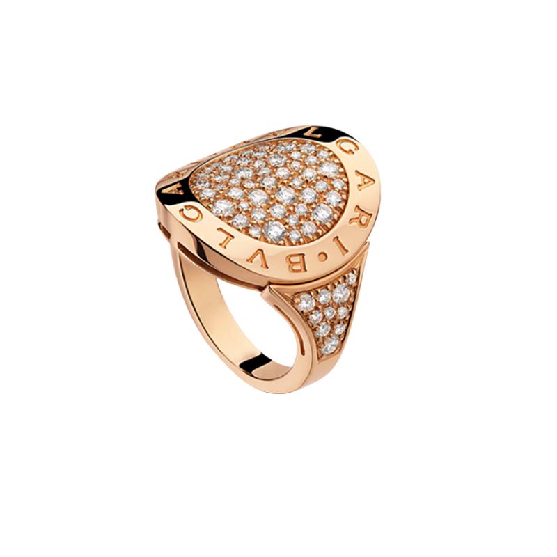 gioielliDonnaAnello Donna Bulgari-Bulgari diamante
