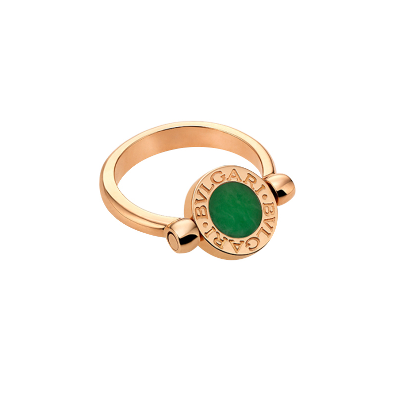 Anello Donna Bulgari-Bulgari giada diamanti