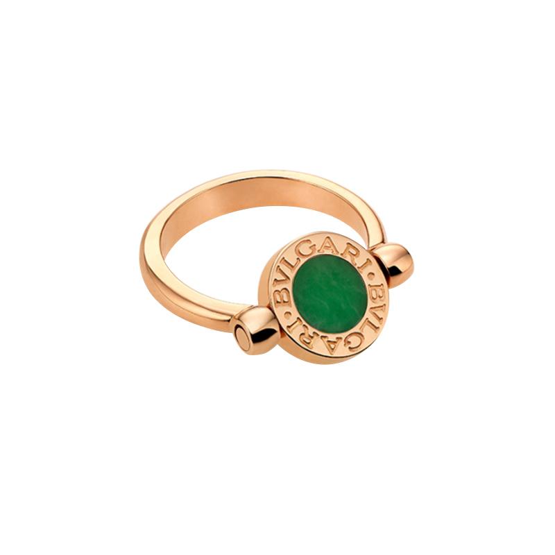 gioielliDonnaAnello Donna Bulgari-Bulgari giada diamante