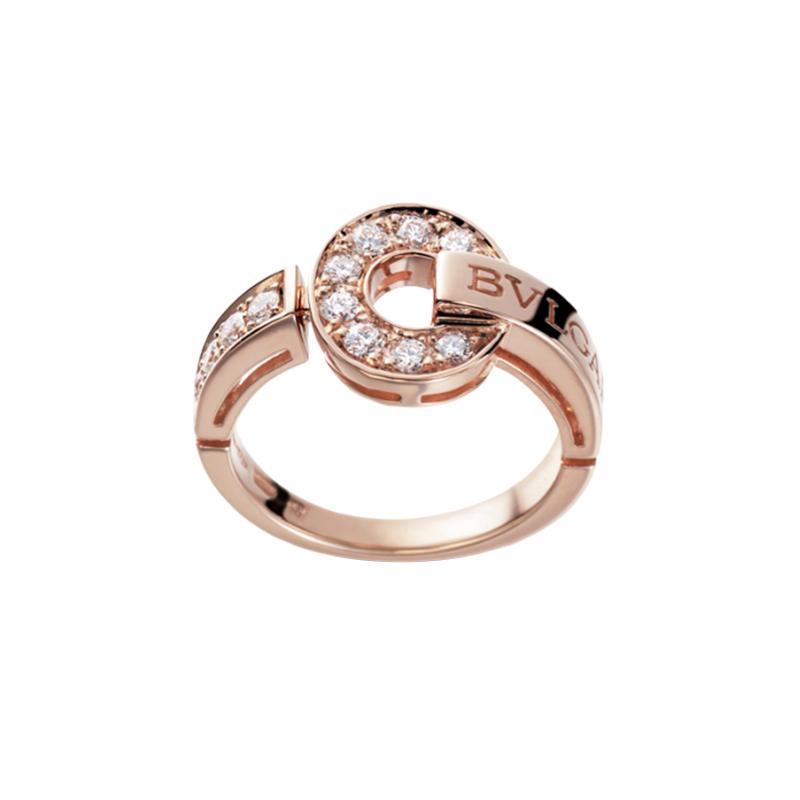 gioielliDonnaAnello Donna Bulgari-Bulgari oro rosa diamante
