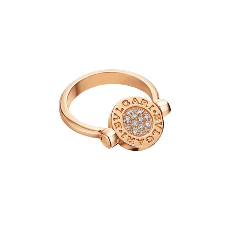 gioielliDonnaAnello Donna Bulgari-Bulgari diamante madreperla