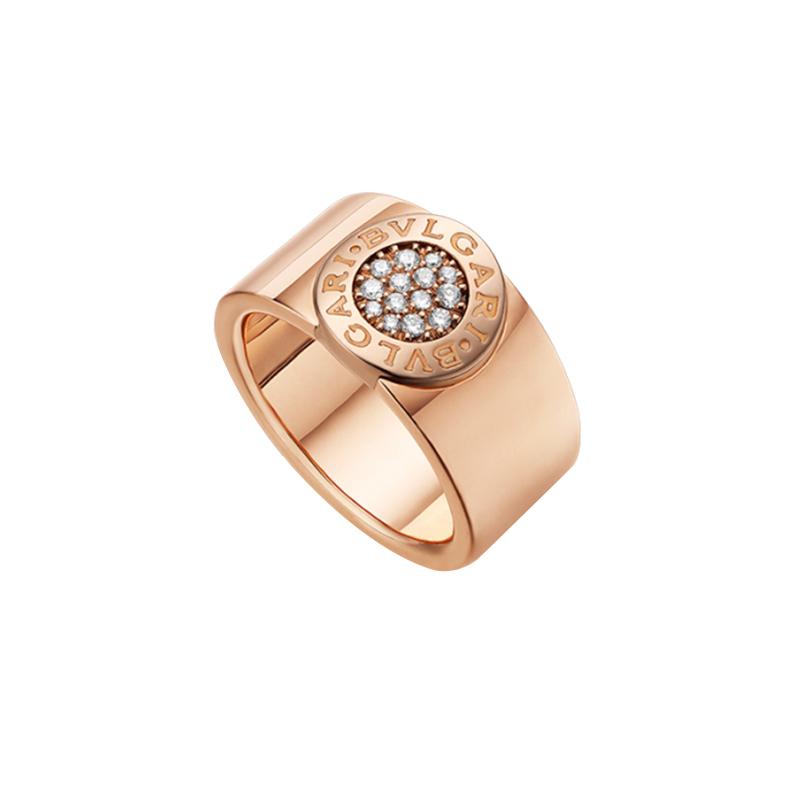 gioielliDonnaAnello Donna Bulgari-Bulgari diamanti oro rosa