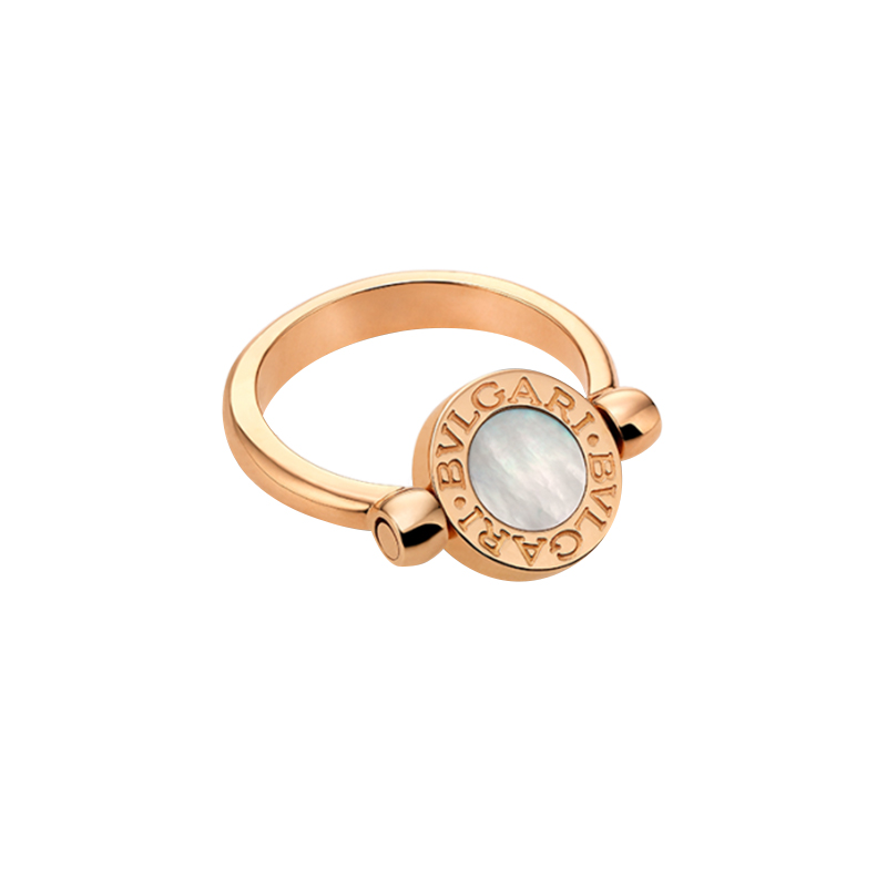 Anello Donna Bulgari-Bulgari diamante madreperla
