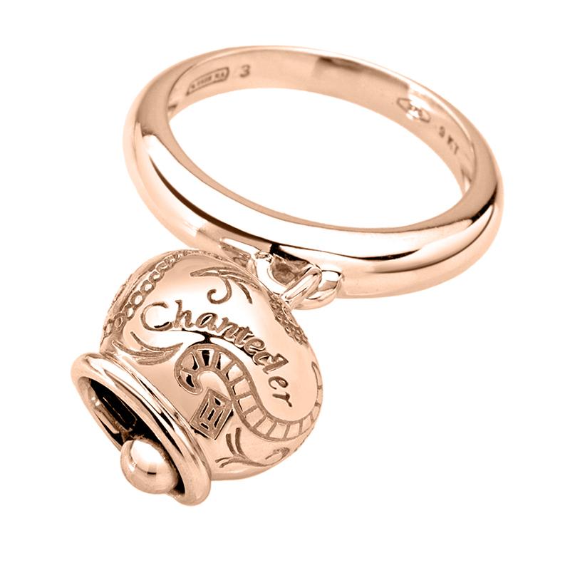 gioielliDonnaAnello Donna Chantecler Campanelle medio oro rosa