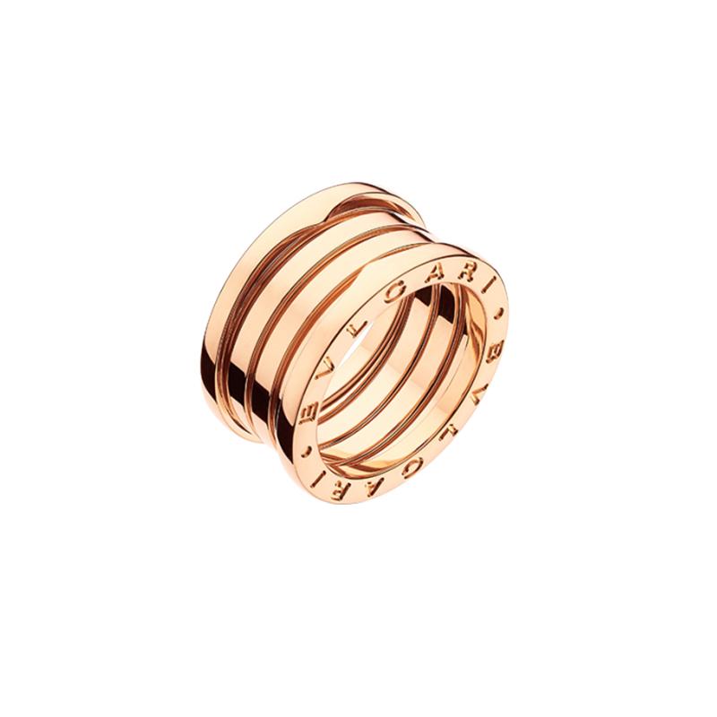 gioielliDonnaAnello Donna Bulgari B.zero1 4 fasce oro rosa