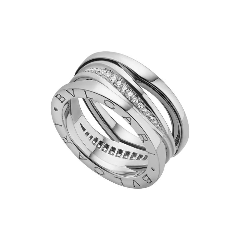 gioielliDonnaAnello Donna Bulgari B.zero1 Design Legend oro bianco diamante