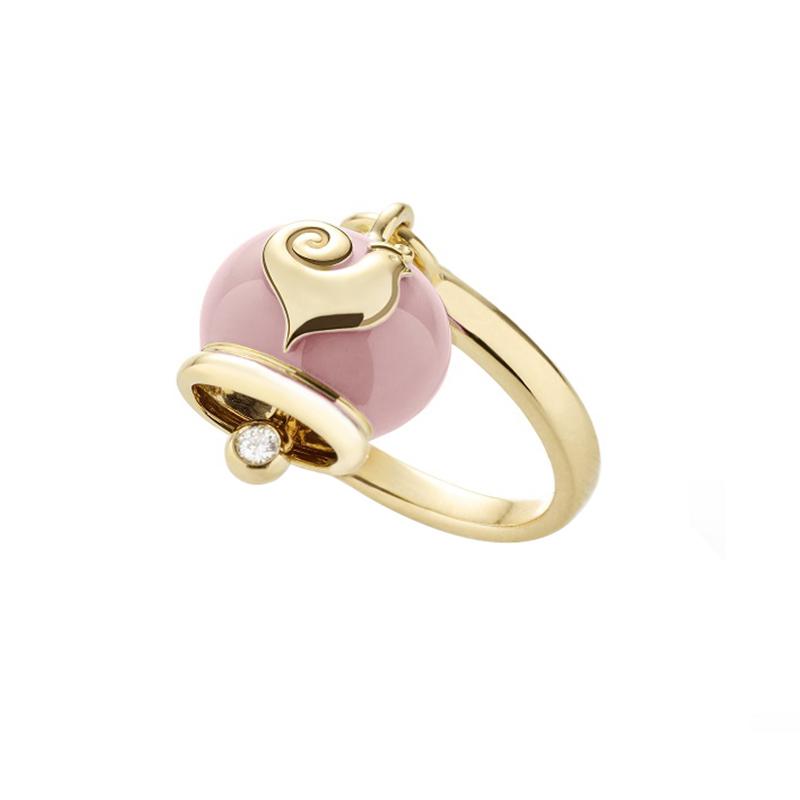 gioielliDonnaAnello Donna Chantecler Campanelle micro rosa