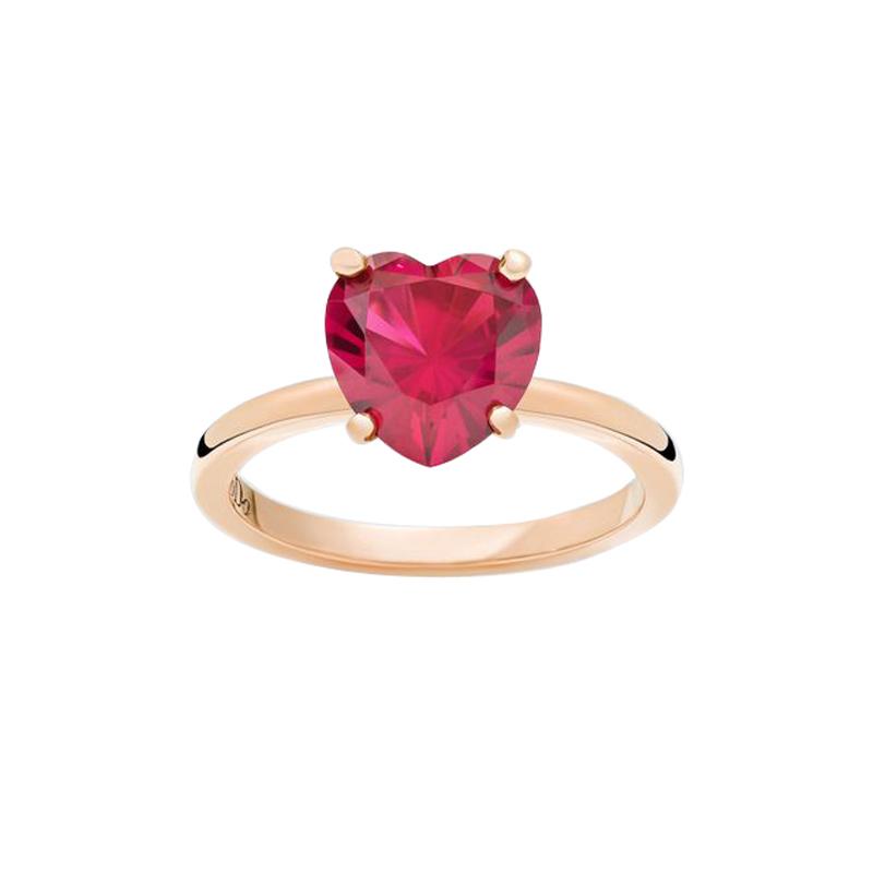 gioielliDonnaAnello Donna Dodo 100% Amore rubino