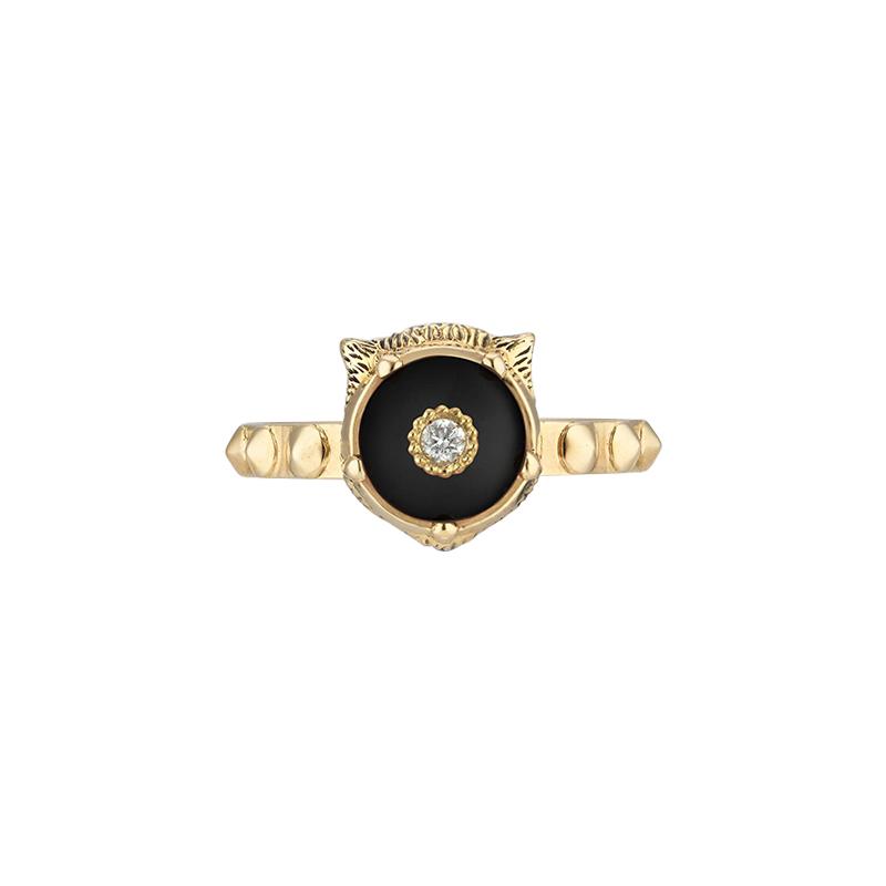 timeless design 12598 4e717 Anello Gucci Le Marché des Merveilles oro giallo