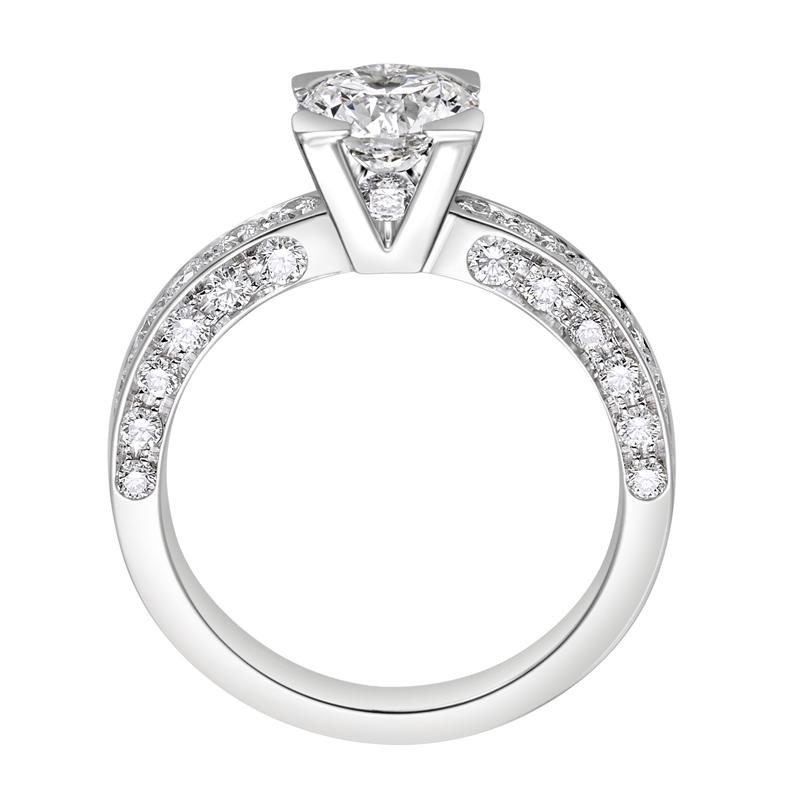 gioielliDonnaAnello Donna Giorgio Visconti Solitari diamanti