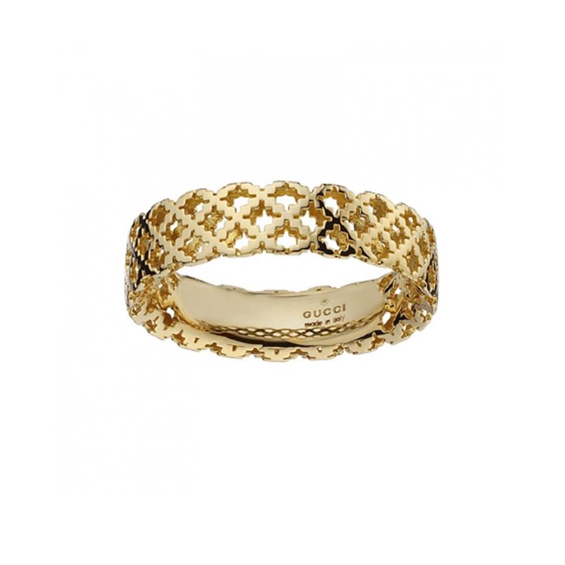 gioielliDonnaAnello Donna Gucci Diamantissima piccolo oro giallo