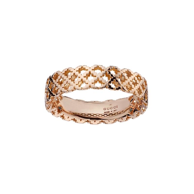 gioielliDonnaAnello Donna Gucci Diamantissima piccolo oro rosa