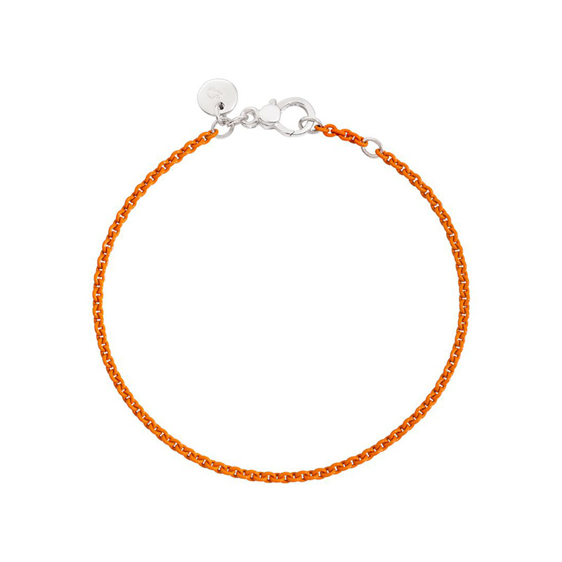 orologiDonnaBracciale Dodo argento arancio pastello