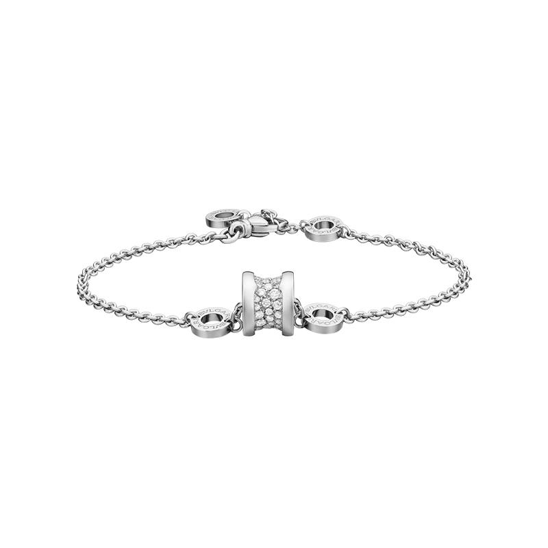 gioielliDonnaBracciale Donna Bulgari B.zero1 oro bianco diamante