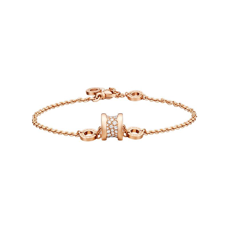 gioielliDonnaBracciale Donna Bulgari B.zero1 oro rosa diamante