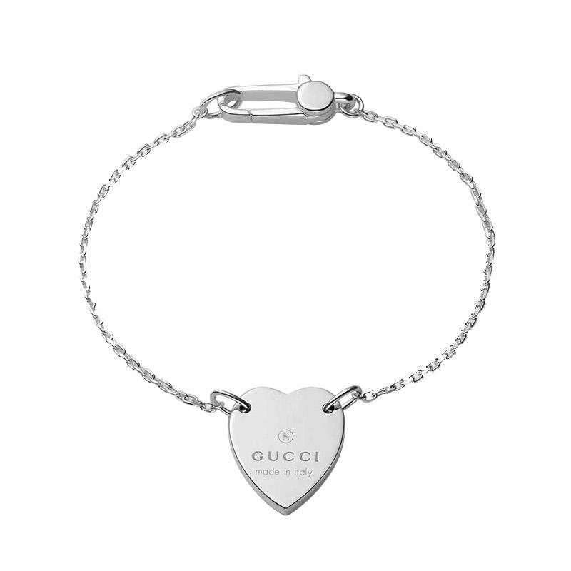 gioielliDonnaBracciale Donna Gucci Trademark Cuore argento