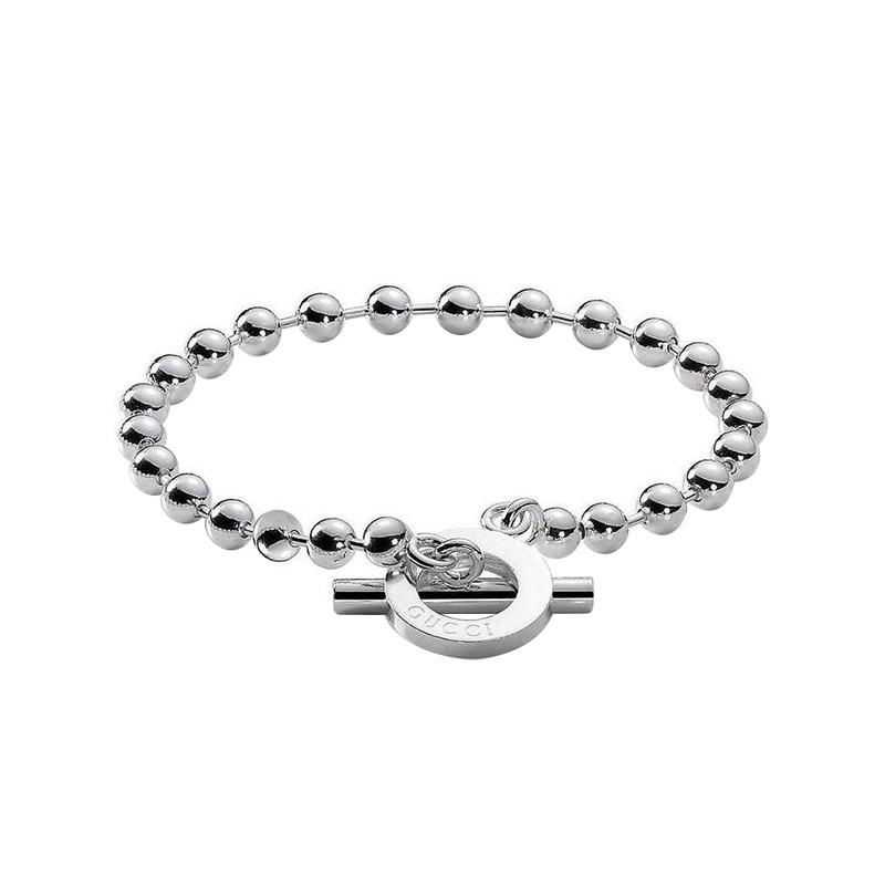 codice promozionale 657a8 b343f Bracciale Gucci Boule argento