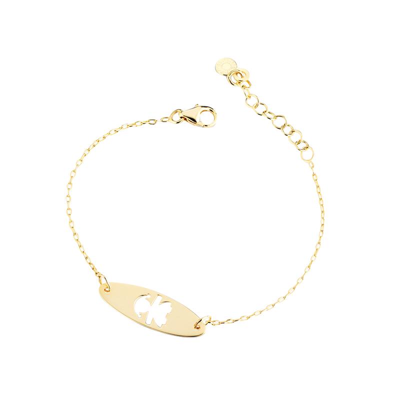 gioielliDonnaBracciale Le Bebé Classici bimba oro giallo