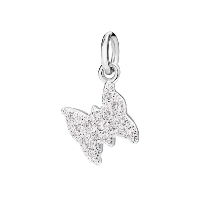 gioielliDonnaCharm Donna Dodo Farfalla diamante