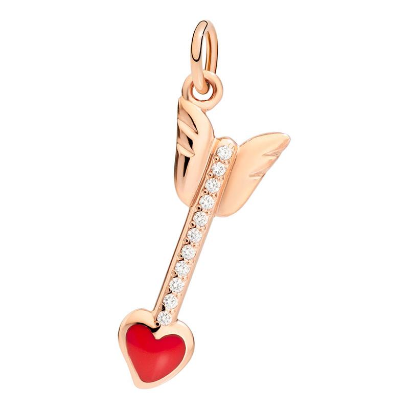 orologiDonnaCharm Dodo Freccia Dell'Amore con diamanti