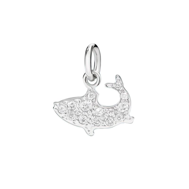 gioielliDonnaCharm Donna Dodo pesciolino diamante