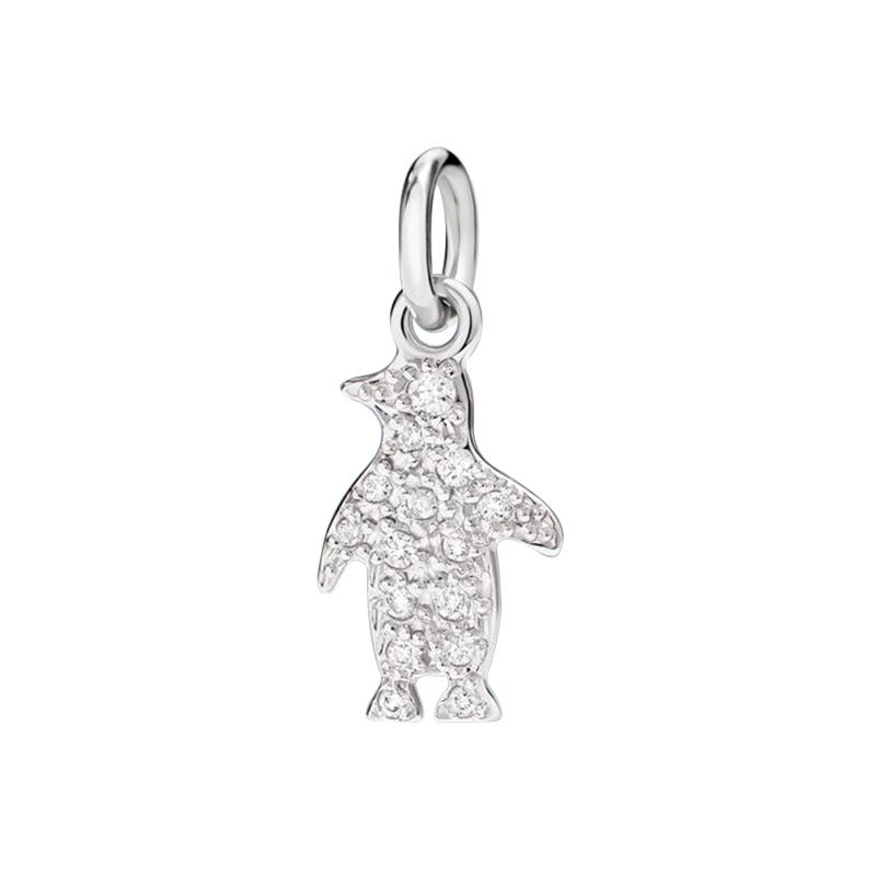 gioielliDonnaCharm Donna Dodo Pinguino diamante