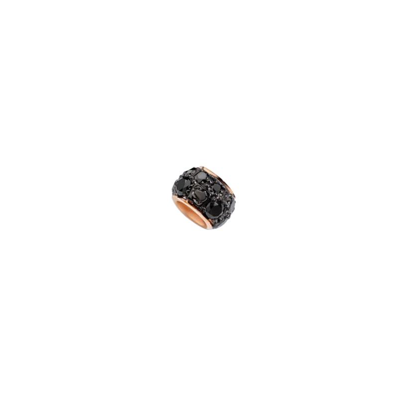 gioielliDonnaCharm Donna Dodo Rondella diamante nero