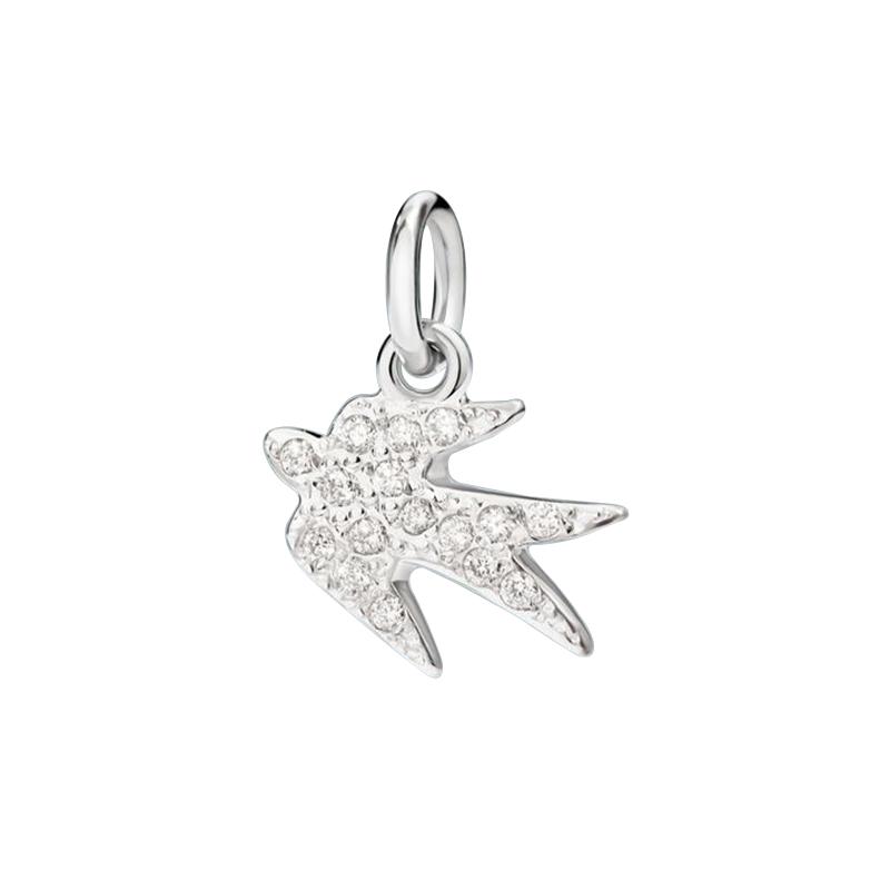gioielliDonnaCharm Donna Dodo Rondine diamante
