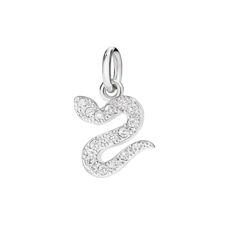 gioielliDonnaCharm Donna Dodo Serpente diamante