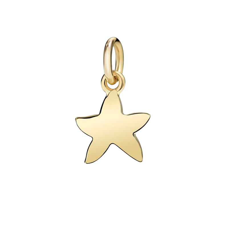 gioielliDonnaCharm Donna Dodo Stella marina oro giallo