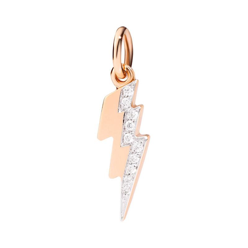 gioielliDonnaCharm Donna Dodo Fulmine diamante