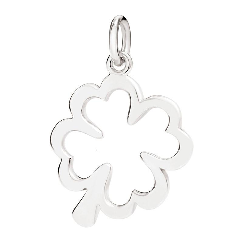 gioielliDonnaCharm Donna Dodo Quadrifoglio argento