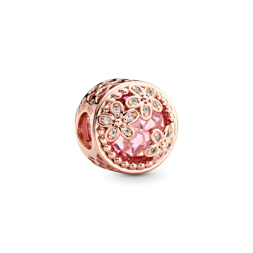 pandora charm oro rosa