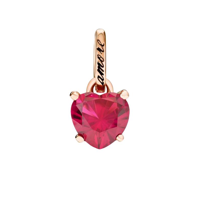 gioielliDonnaCharm Donna Dodo 100% Amore rubino