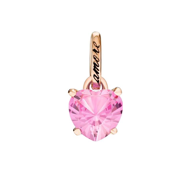 gioielliDonnaCharm Donna Dodo 100% Amore zaffiro rosa