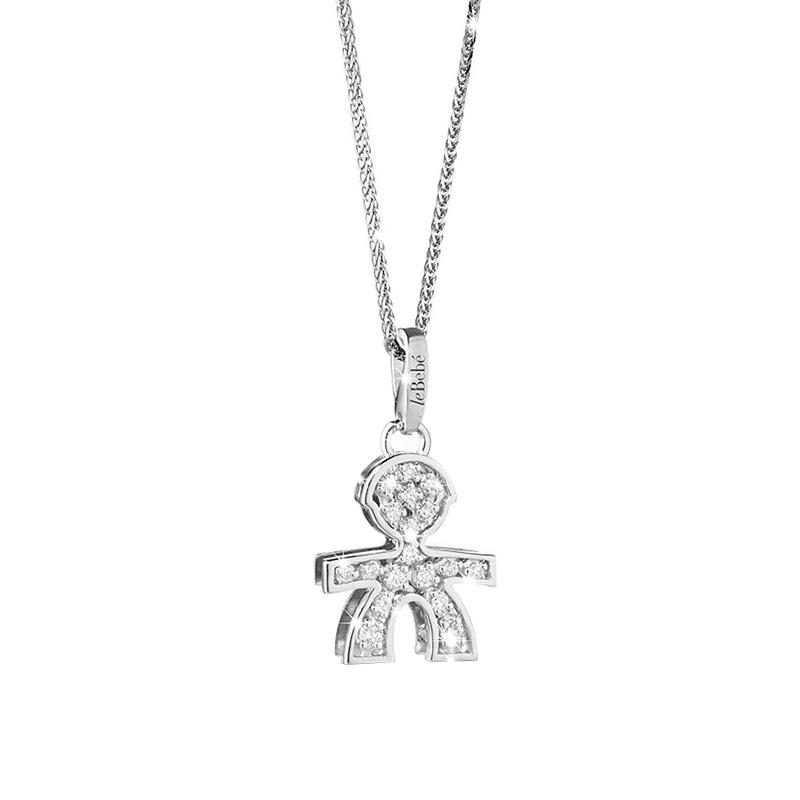 b3561fd32b gioielli-e-orologi Donna Ciondolo Donna Le Bebé Pavé Bimbo piccolo ...