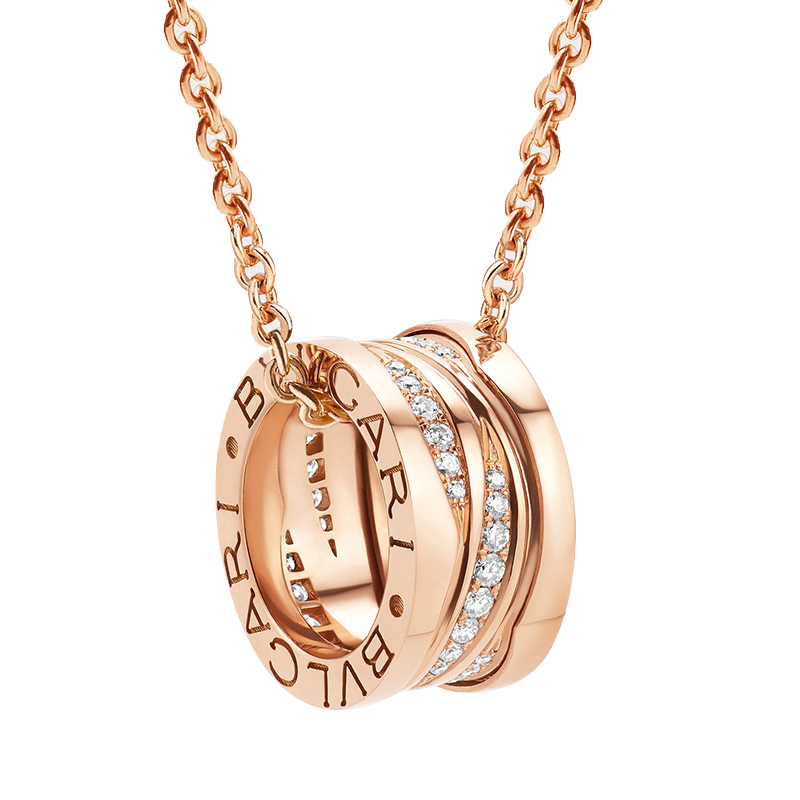 gioielli Donna Collana Donna Bulgari B.zero1 Design Legend oro rosa diamante