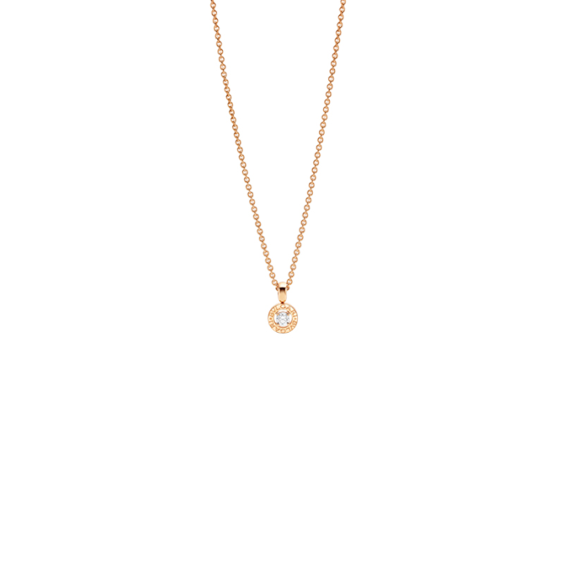 Collana Donna Bulgari-Bulgari oro rosa diamante