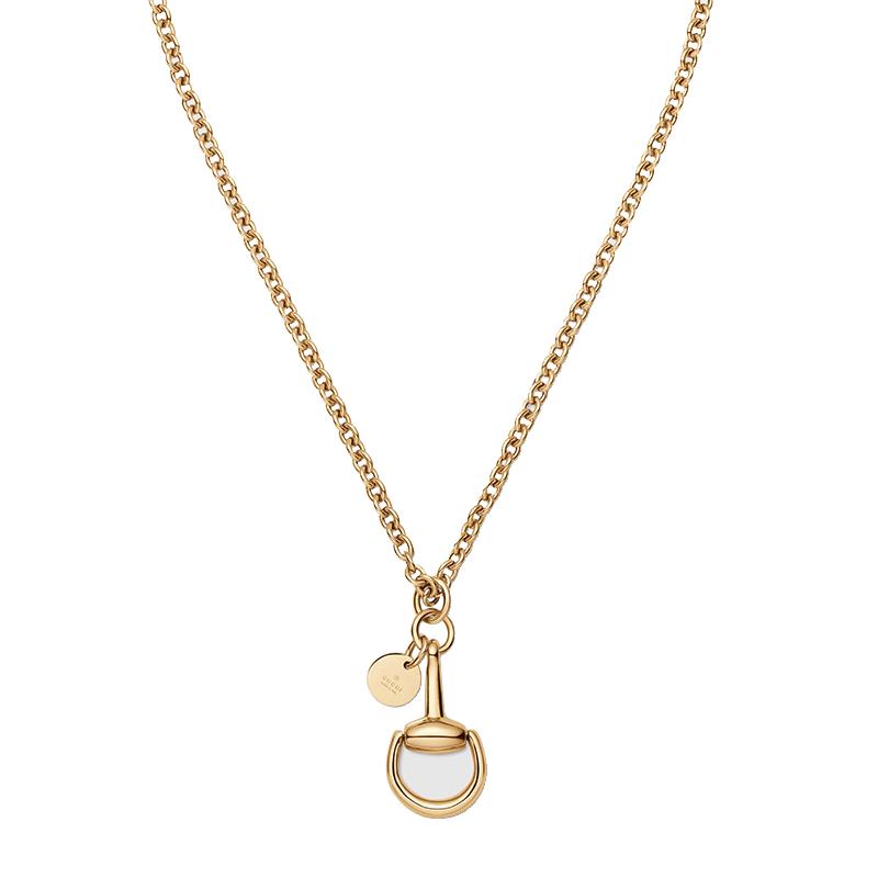 nuovo prodotto e3aa7 14c20 Collana Gucci Horsebit oro giallo | Donna | Collane in oro | Gucci |  Saltini Nettuno in provincia di Roma