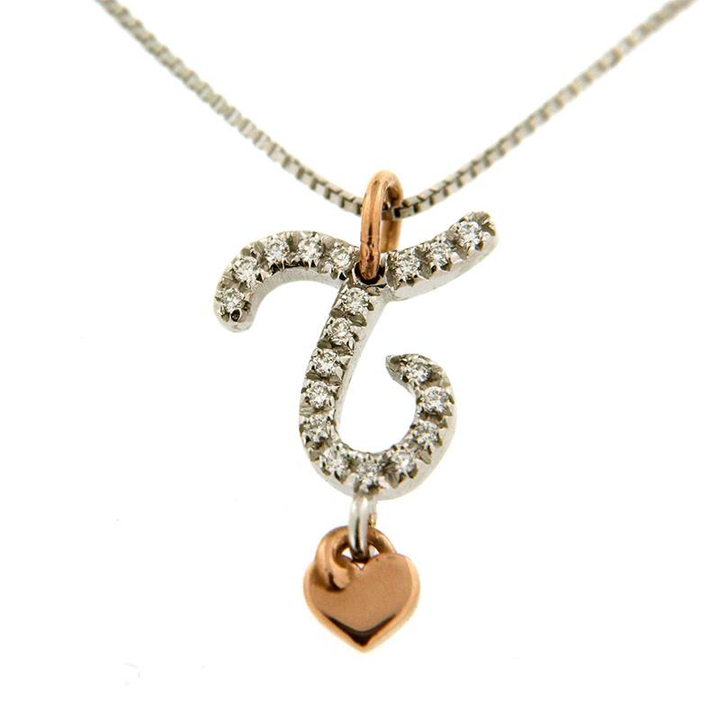 gioielli-e-orologiDonnaCollana Donna Saltini Love Letters T iniziale
