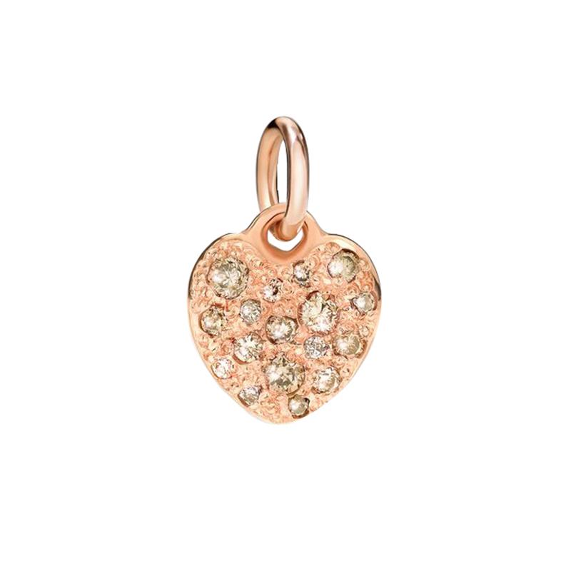 gioielliDonnaCharm Donna Dodo Cuore diamante